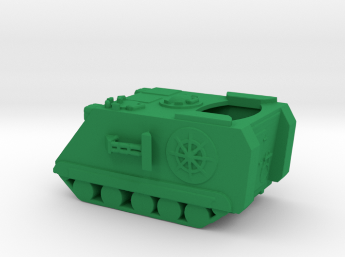 1/160 Scale M120 Mortar Carrier 3d printed