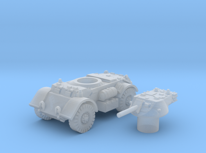 T17 Staghound (Usa) 1/200 3d printed
