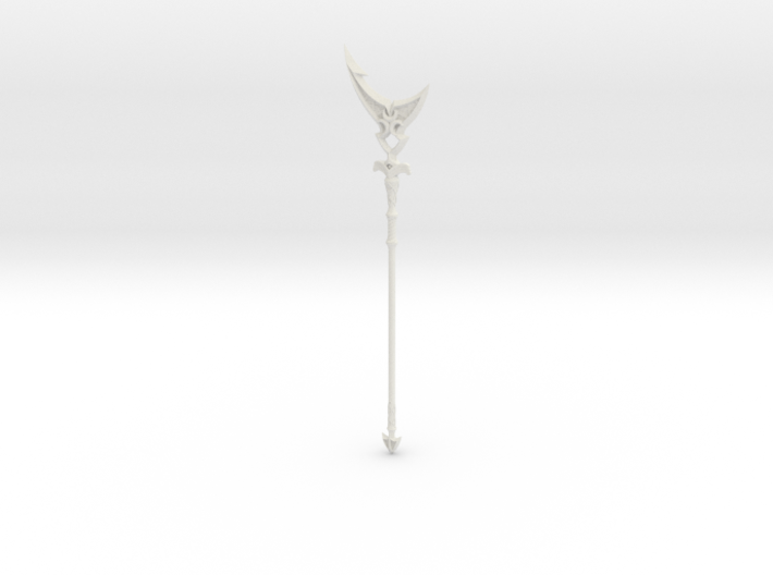 """""""BotW"""" Silverscale Spear 3d printed"""