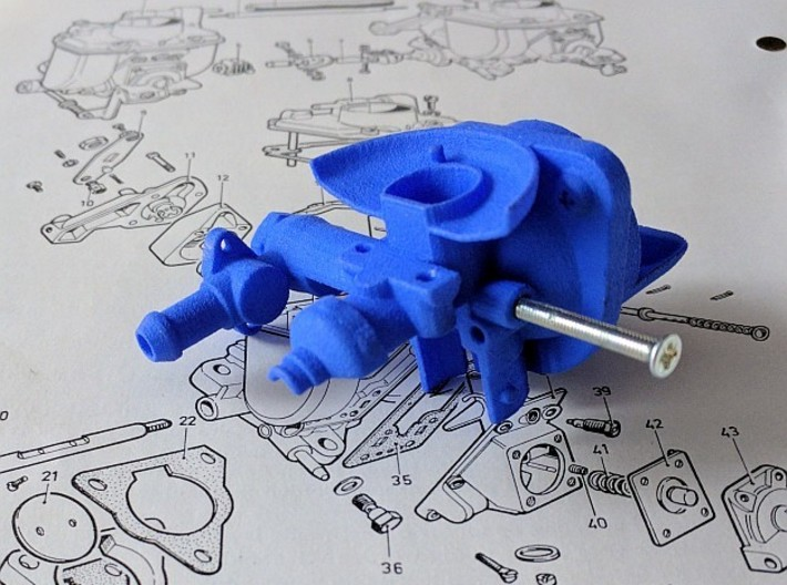 Fuel for Inventions 3d printed Reading the workshop manual