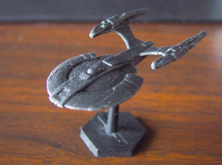 Xuvaxi Adjudicator 3d printed Xuvaxi Adjudicator in black detail.