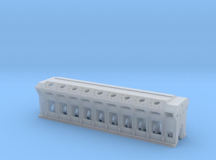 Z Ships Diesel Engine Load 3d printed