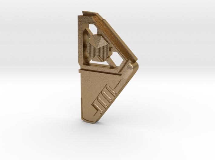 Star Lord Communicator Pin 3d printed