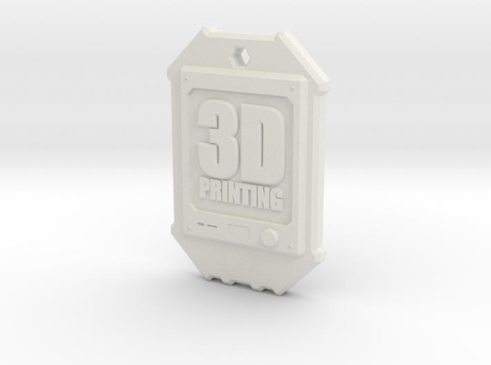 Dogtag 3D-Printing 3d printed