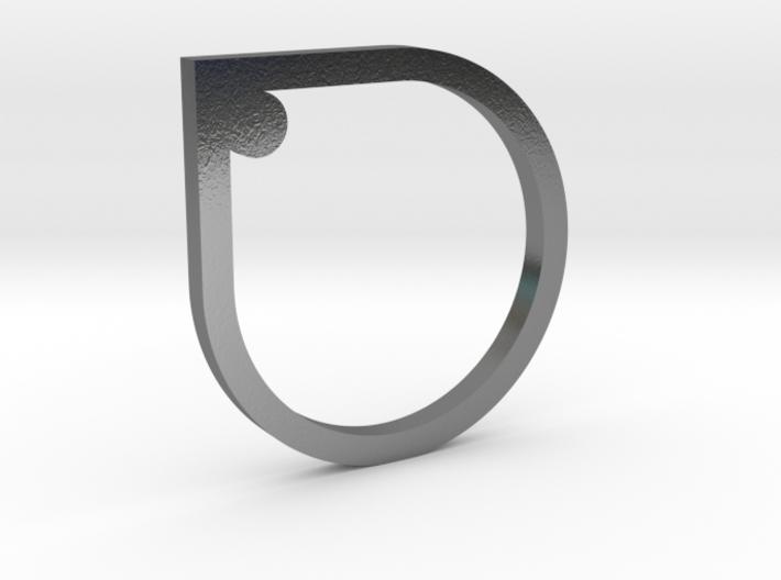 Drop in drop Ring 3d printed