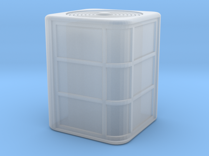 HO Scale Air Conditioner 3d printed