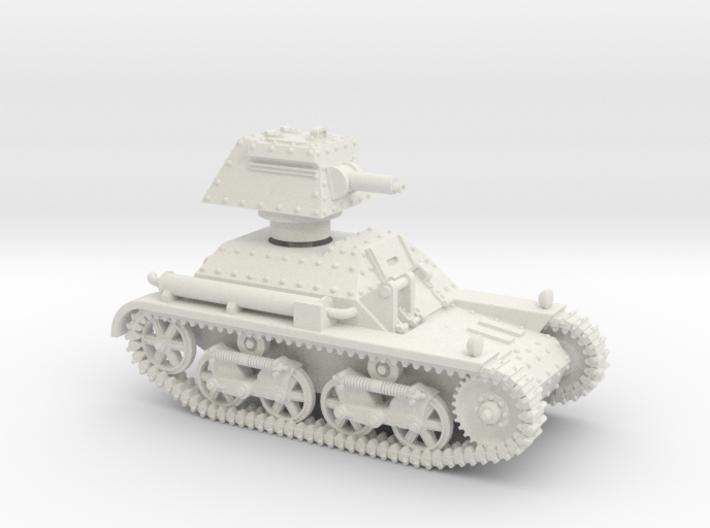Vickers Light Mk.IIb (1-87) 3d printed