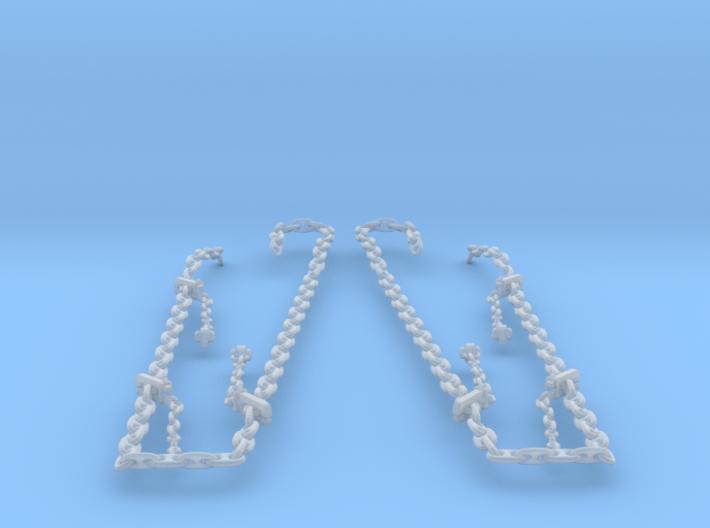 1/96 USN Anchor Chain 3d printed