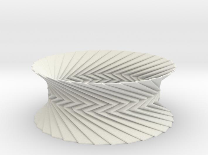 Bracelet HP 1 - Miura Origami Inspired Design 3d printed