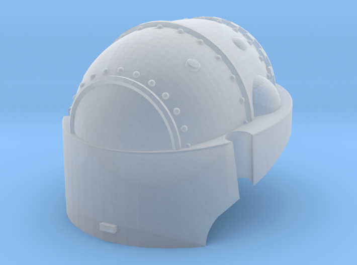 Martian Robot Castle Head for conversion 3d printed