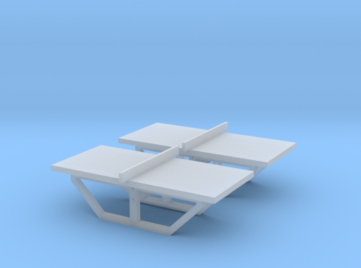 TJ-H01144x2 - Tables de Ping-Pong en beton 3d printed