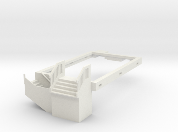 DPM Townhouse #3 Foundation 3d printed