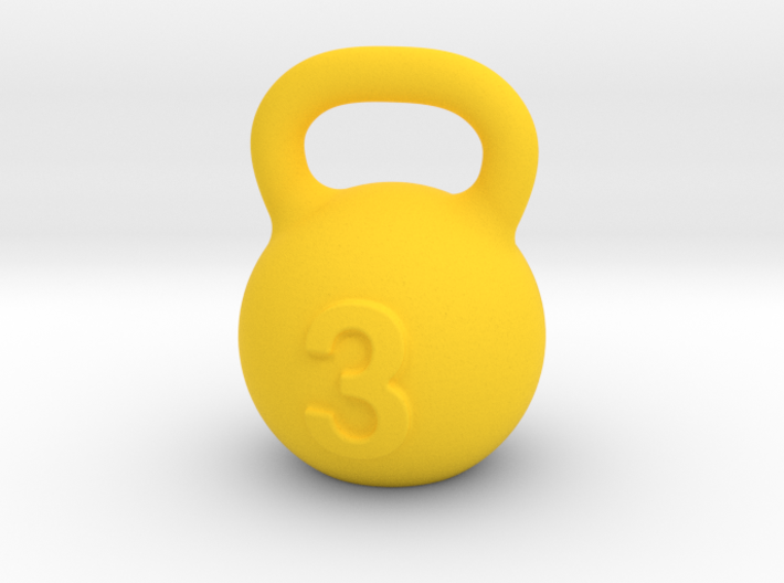 Kettlebell For You 3d printed