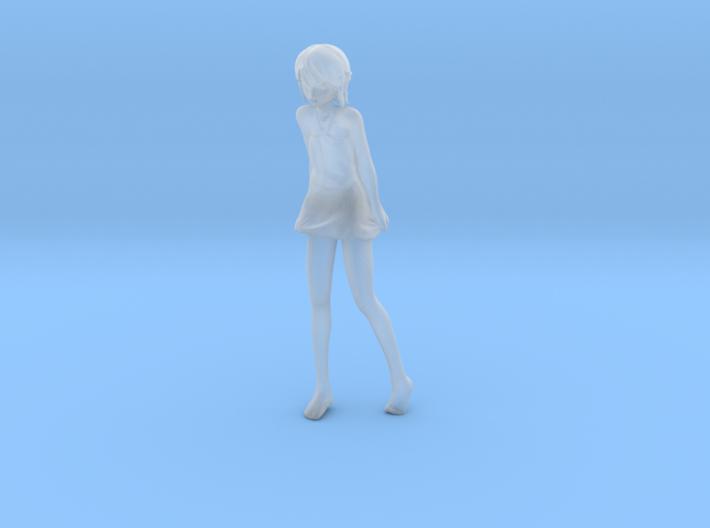 1/24 Beach Girl 3d printed