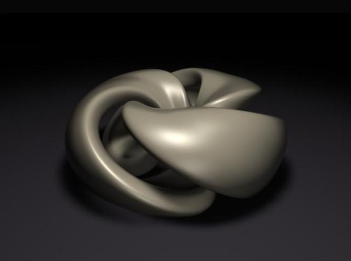 Twisted Knot 3d printed rendered view