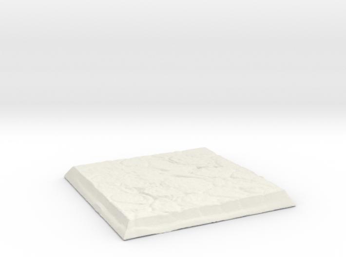 Square Stone Base 3d printed