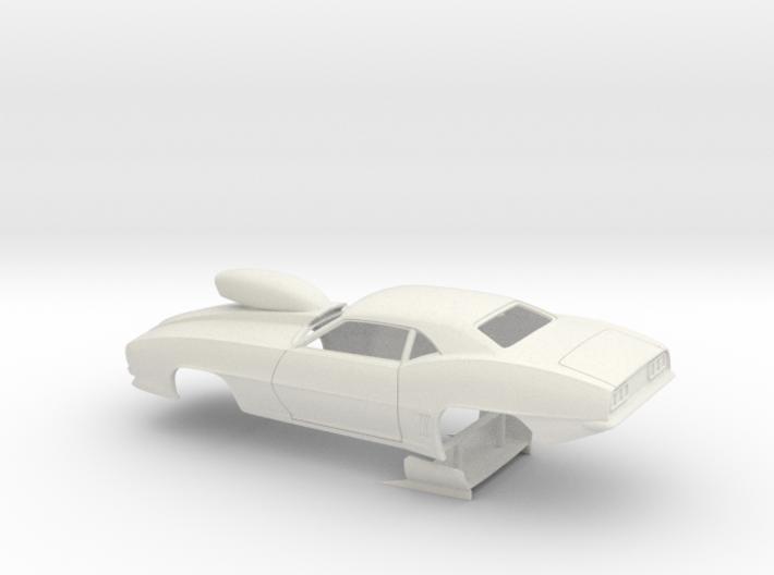 1/24 Pro Mod 69 Camaro W Scoop 3d printed