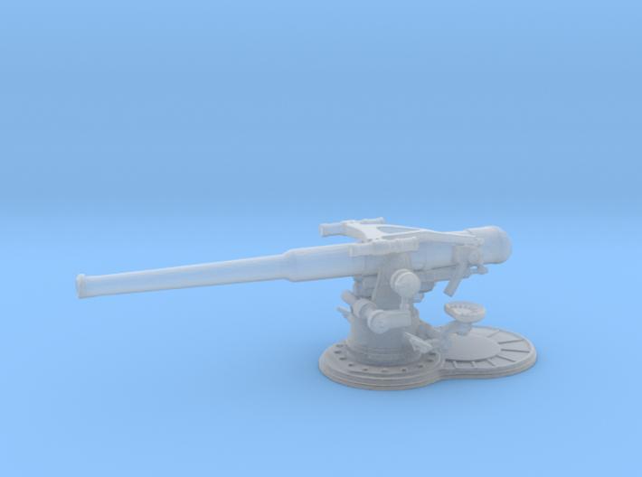 1/144 USN 4 inch 50 (10.2 cm) Gun Deck 3d printed