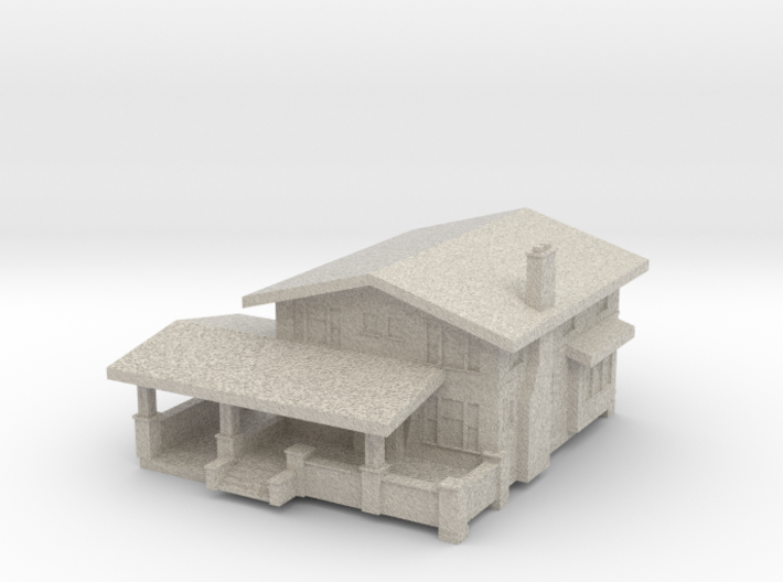 Sears Shadowlawn House - Zscale 3d printed