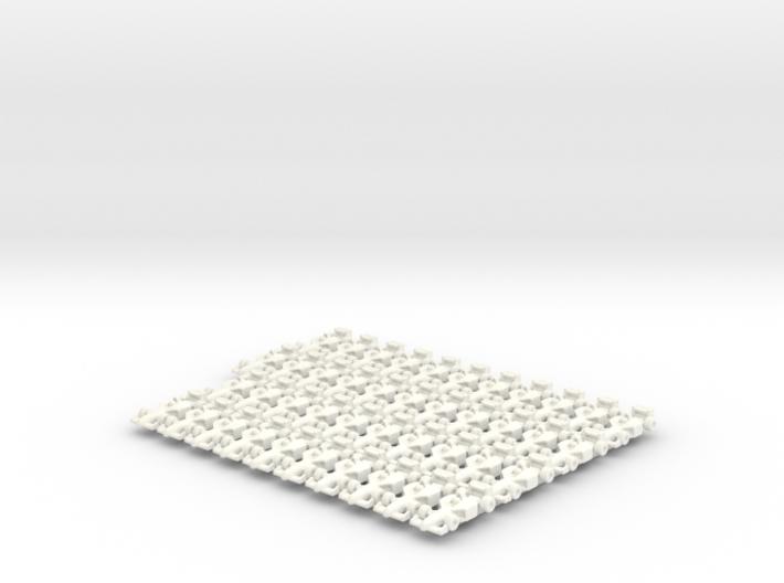 Miniature F1 (42pcs) - Hole variant 3d printed