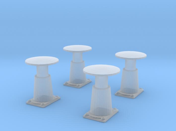 TTTE - Märklin Buffer Set [H0/00] 3d printed