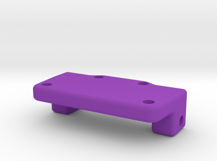 Rear Axle Plate2 3d printed