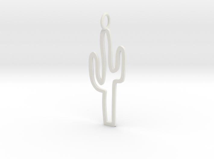 Large Cactus Charm! 3d printed