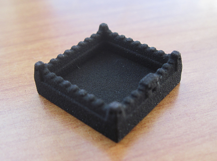 Catan Pieces Knights - Black 3d printed Wall token