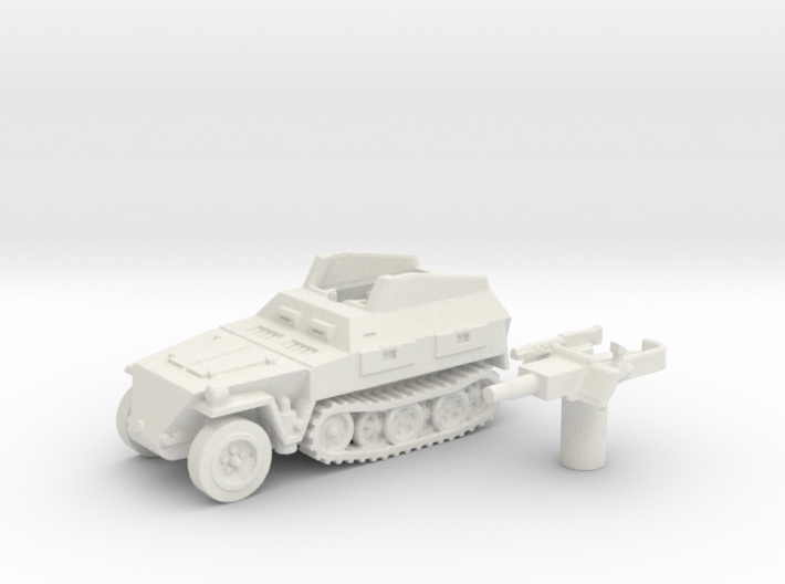 Sd.Kfz 250 vehicle (Germany) 1/144 3d printed