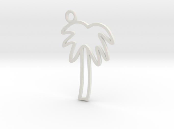 Palm Tree Charm! 3d printed