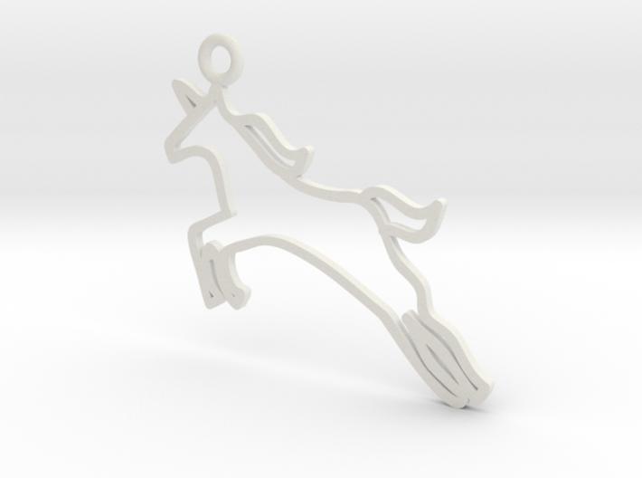 Unicorn Charm! 3d printed