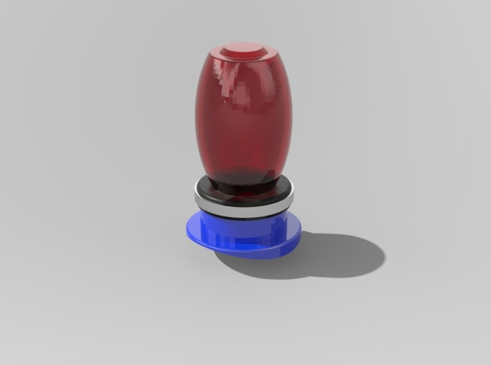 1.7 OVOIDE STROBE MD500 3d printed