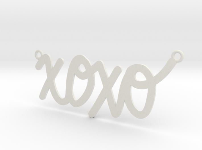 XOXO Necklace! 3d printed