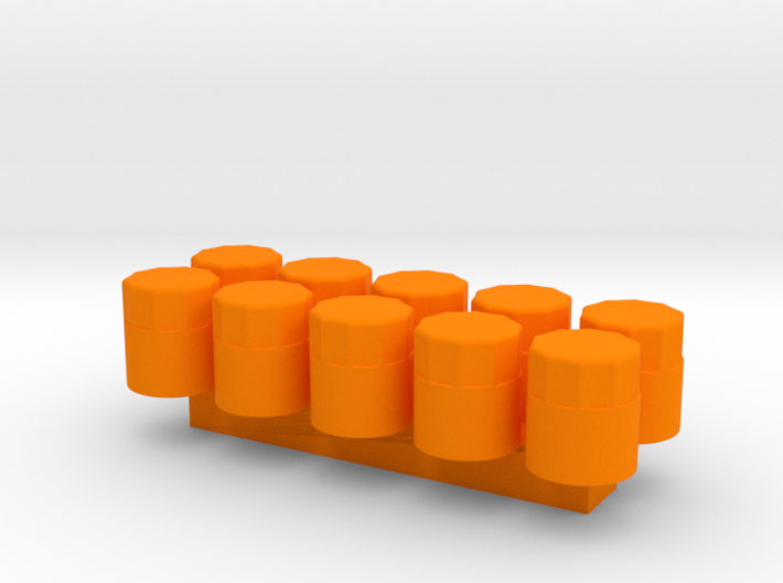 1/24 Scale Oil Filter (10 Pack) 3d printed