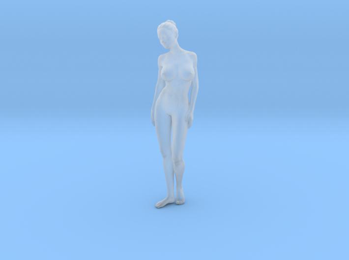 Mini Sexy Woman 015 1/64 3d printed