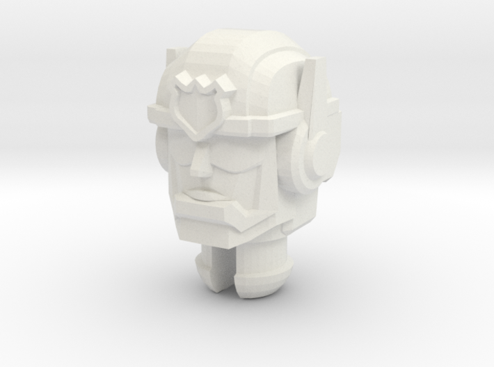 Rescue Bots Chase Head for Titans Return Bumblebee 3d printed