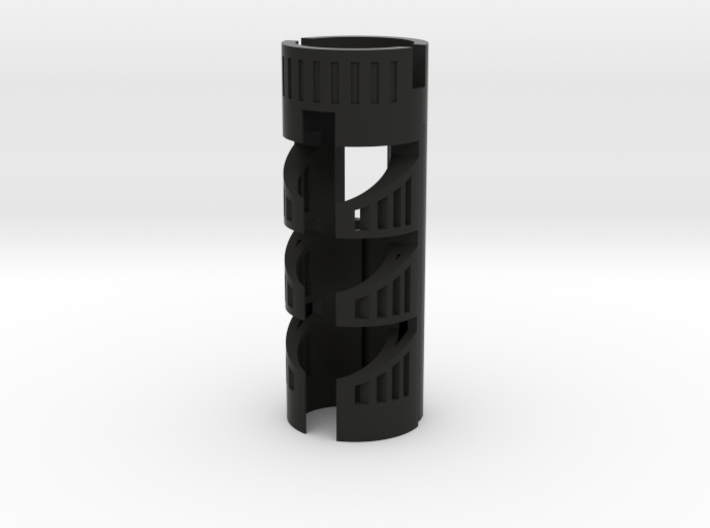 """NBv3/4 Chassis for most SF hilts - 1.11"""" OD--18650 3d printed"""
