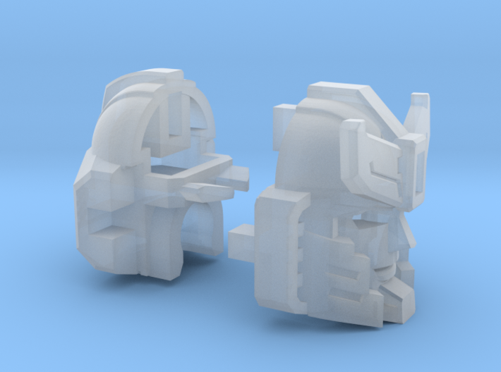Silverblue Deamon's Head Combiner Version 3d printed