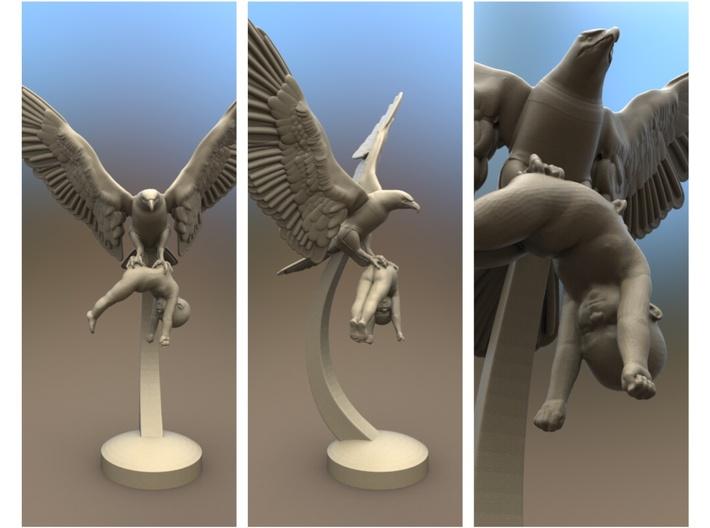 EAGLE PREY 25 cm /10 inch 3d printed