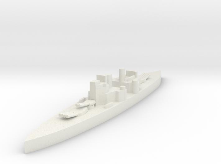 Royal navy HMS Prince Of Wales 1/3000 3d printed