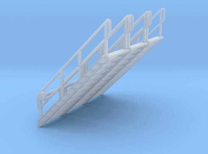 HO 3x Stairs #12 3d printed
