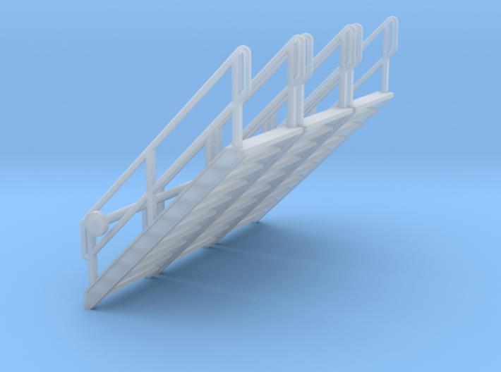 HO 3x Stairs #10 3d printed