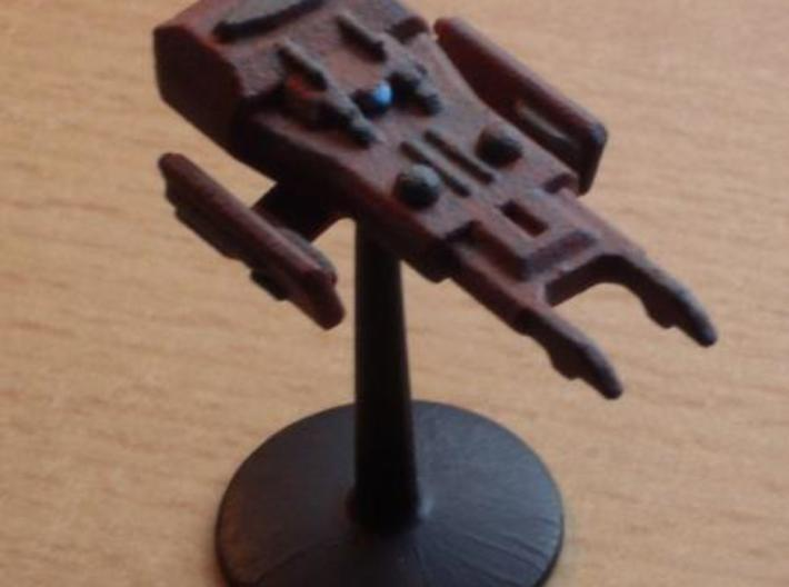 Atropos Destroyer 3d printed painted model with stand