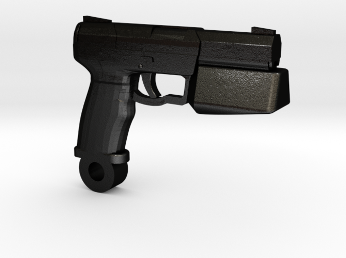 Blaster Charm, Pendant (Battlestar Galactica TRS) 3d printed