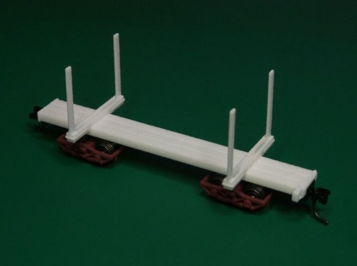 HOn3 Logging Car C 3d printed