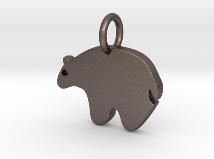 Bear Charm 3d printed