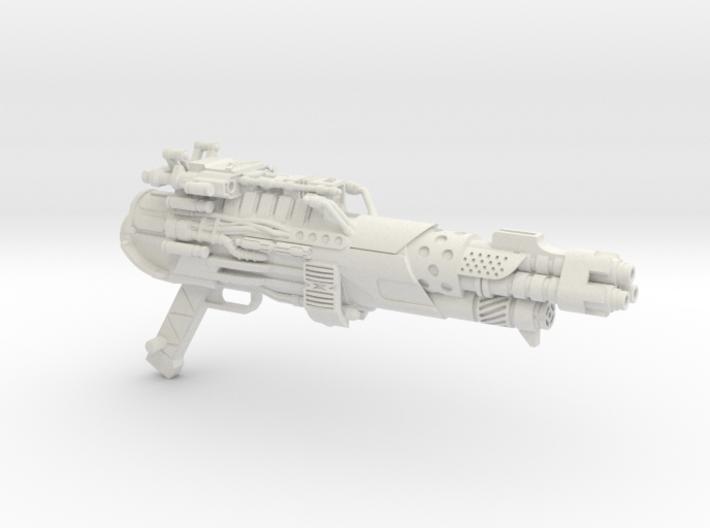 Tri-barrel Blaster for 3A Optimus Prime 3d printed