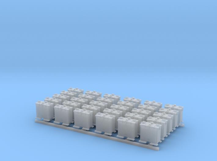 1/144 Scale 20mm Oerlikon Ready Use Lockers x30 3d printed 1/144 Scale 20mm Oerlikon Ready Use Lockers x30