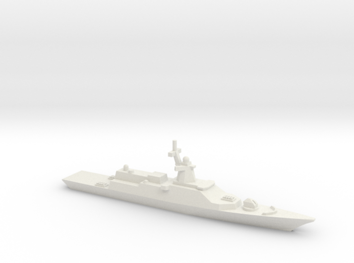 Gremyashchiy-class Corvette, 1/1800 3d printed