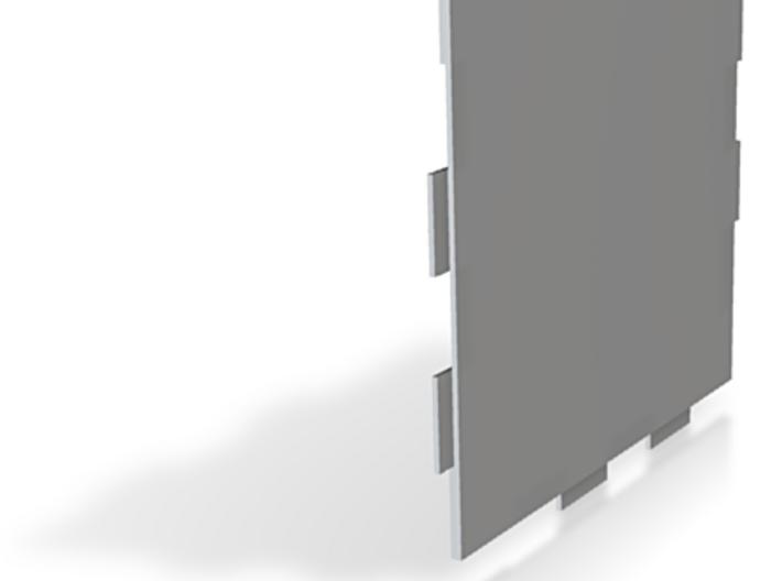 Basic floor-tile, thin 3d printed